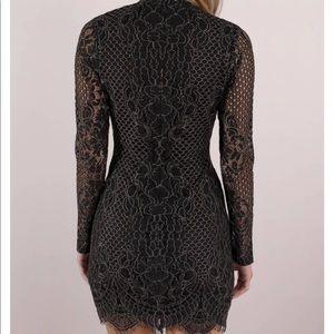 Tobi Dresses - Out to Town Black Bodycon Dress XS